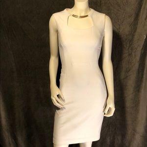 BCBG Max Azria off white Clara dress